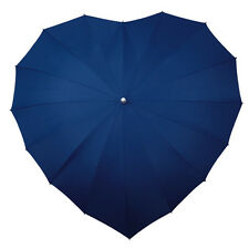 Heart Umbrella - Navy Blue