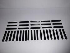 Lego Technic (3705) 35 Kreuzstangen 4 lang, in schwarz aus 8285 8458 8110 8461
