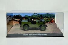 James Bond Modellauto-Collection Willys Jeep M606