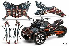 AMR Racing CanAm Spyder F3-S Roadster Graphic Kit Street Bike Decal Wrap WW2