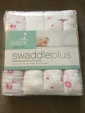 New Aden And Anais Breathable Muslin Blankets 4 Pack Girls