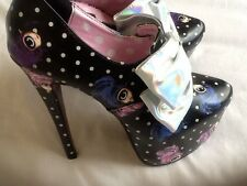 IRON FIST Lovely Iris Platform Sandal Shoes UK 4 EUR 37 RARE! Last One Reduced