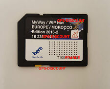 LATEST 2017 CITROEN/PEUGEOT SD CARD SAT NAV GPS UPDATE RNEG EU/UK WIPNAV/MYWAY