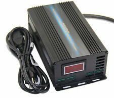 48V 8A Car Battery Charger 7-stage Pulse Charging Desulfation Battery Maintence