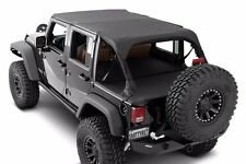 Smittybilt Extended Top in Black Diamond 2007-2009 4dr Jeep Wrangler JK 94535