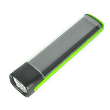 USB Rechargeable Solar Power Flashlight Torch Emergency Battery Power Bank Light