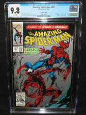 Amazing Spider-Man #361 1st Full App of Carnage Silver 2nd Print CGC 9.8 - 1992