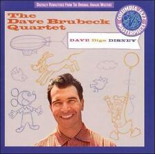 Dave Brubeck / Dave Digs Disney (CD) Heigh-Ho, Alice in Wonderland, One Song !!!