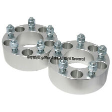 2 Pcs Wheel Spacers Adapters | 5X4.75 To 5X4.75 | 87.1 CB | 14X1.5 | 50MM 2 Inch