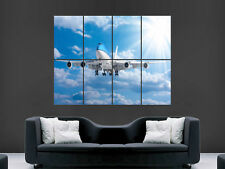 JUMBO JET 747 AEROPLANE BOEING LARGE PICTURE POSTER GIANT