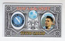 figurina BANCA DELLO SPORT TUTTO CALCIO 2014/2015 NAPOLI HAMSIK