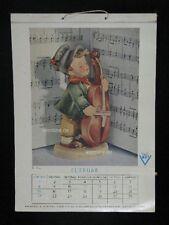 Goebel Hummel Kalender Calendar 1953