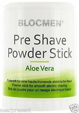 BLOC MEN © pre shave Powder Stick 60g Aloe Vera (100g = 14,92 euro) WW shipment