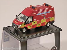 FORD TRANSIT LWB West Sussex Fire & Rescue 1/76 scale model OXFORD DIECAST