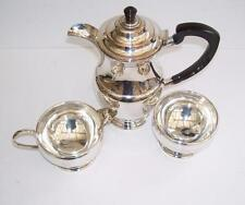 Top Quality Garrard &Co. of London English Silver Plated 3 Piece Coffee Set.