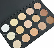 15 Colour Camouflage & Concealer Base Makeup Palette Cream Nature #615