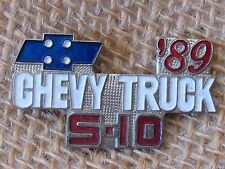 1989 S-10  CHEVY TRUCK - hat pin, lapel pin, tie tac