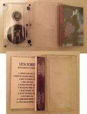 Music Tape / Cassetta Lita Ford Dangerous Curves