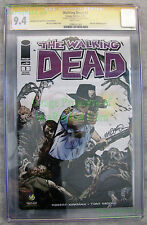 THE WALKING DEAD #1 2nd Print 2013 Portland Signed Michael Golden CGC SS 9.4 NM