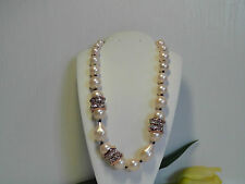 Alexis Bittar 'Miss Havisham' Pink Shell Pearl Necklace.*******NEW******