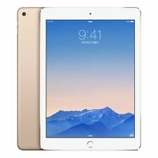 UNLOCKED APPLE IPAD AIR 2 16GB GOLD 4G LTE Wi-Fi + CELLULAR MH1C2J/A