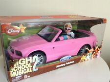 HTF NEW HiGH SCHOOL MUSiCAL 2 SHARPAY MUSTANG BaRBiE DoLL PiNK CONVERTiBLE CAR