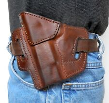 Sendero Tactical Brown Leather Full Size Model 1911 Pancake Holster Left Hand