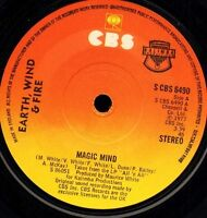 """EARTH WIND AND FIRE magic mind/love's holiday S CBS 6490 uk cbs 1977 7"""" WS EX/"""