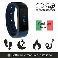 endubro FITNESS TRACKER i5 Plus BLUETOOTH TOUCHSCREEN ANDROID E IOS - BLU