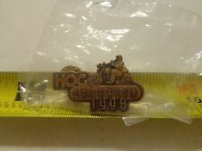 HOG Laughlin 1998 vest PIN Harley Davidson Owners Group NEW flhr flhtcu flstc XL