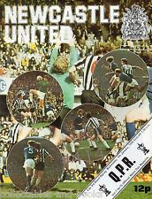 NEWCASTLE UNITED v QUEENS PARK RANGERS - 7th January 1976 - Football Programme