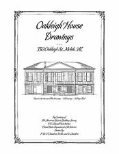 Oakleigh House Drawings, Mobile, AL - Historic House Plans - Architecture