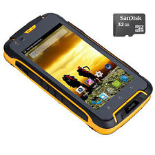 32GB Unlocked JEEP F605 12000mAh 2G 3G Rugged Smartphone Waterproof Mobile GPS