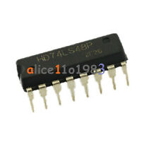 Imported 10PCS HITACHI 74LS48 DIP16 DIP-16 IC Original NEW
