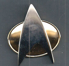 Star Trek:Next Generation Metal Communicator Pin & Soundboard- FREE S&H