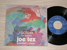"JOE TEX - I GOTCHA / A MOTHER'S PRAYER - 45 GIRI 7"" ITALY"