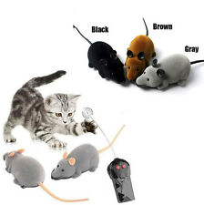 Remote Control RC Rat Mouse Wireless For Cat Dog Pet Funny Toy Novelty Gift @