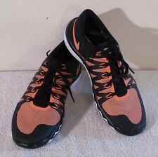 NEW Nike Free Trainer 5.0 V6 Mens Training Shoes 7.5 Black/Orange MSRP$100
