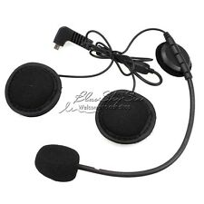 Earpiece Microphone For BT-S2 BT-S1 Bluetooth Intercom Motorcycle Helmet Headset