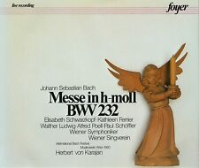 "CD x 2  FOYER 2-CF 2022 Bach ""Messe in h-moll BWV 232"" Kathleen Ferrier; Karajan"