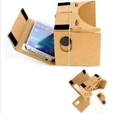 DIY Cardboard Quality VR Virtual Reality 3D Glasses For Smartphone Google iPhone