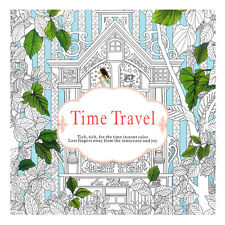 Time Travel Adult Version English  Graffiti Coloring Book Children Painting