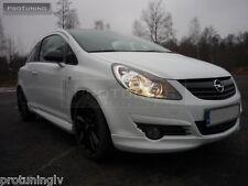 Opel vauxhall corsa d 06-10 pare-chocs avant spoiler lèvre cantonnière addon opc gsi gtc