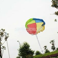 Parachute Toy Skydiver Tangle Free Nylon for Model Rocket RC Plane Helicopter