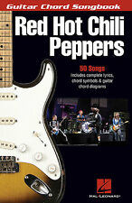 Red Hot Chili Peppers Guitar Chord Songbook Learn to Play Pop Music Book