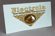 BIG DECAL ELECTROLA PHONOGRAPH WATER SLIDE DECAL FOR CABINET RESTORATION