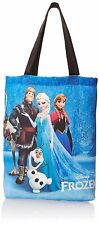 NWT Concept One Handbags Shoulder Bag Disney Frozen Sublimation Print Tote Royal