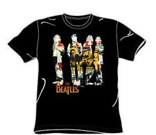THE BEATLES Pop Rock Band FAB FOUR COLLAGE Unisex Adults COTTON T SHIRT XL New
