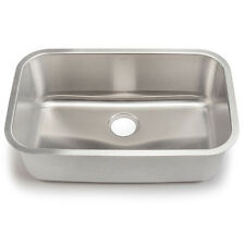 "30"" x 18"" Single Bowl Stainless Steel Kitchen Sink"