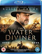 THE WATER DIVINER - BLU-RAY ( RUSSELL CROWE ) BRAND NEW & SEALED )